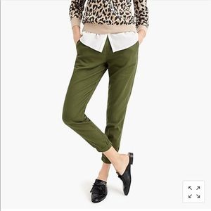 J. Crew Point Sur Cotton Twill Jogger